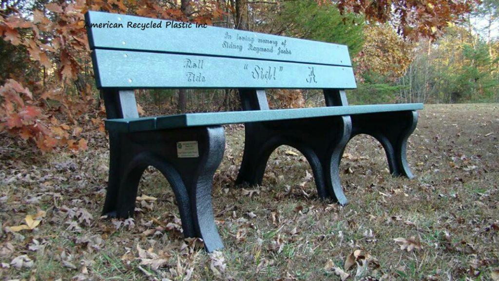 Custom Engraved Memorial Bench