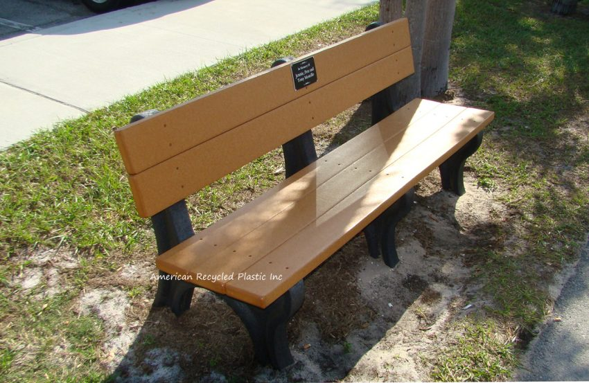 Custom Memorial Bench